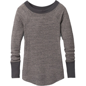 Prana Sheeba Top Manga Larga Mujer, heather grey